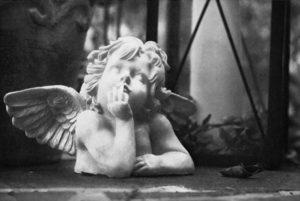 Albert Lindmeier, S'Engerl, 20 x 30 cm, Heliogravüre