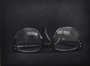 You think I did this? (Glasses), 24 x 30 cm, Photogravure