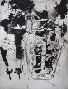 Vertigo 071901, 40 x 30 cm, Carborundum, Edition: 10
