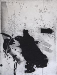 Vertigo 071903, 40 x 30 cm, Carborundum/Photogravure, Edition: 10