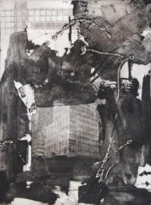 Vertigo 071908, 40 x 30 cm, Carborundum/Photogravure, Edition: 10