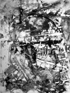 Without Head, 40 x 29,8 cm, Carborundum, Edition: 10