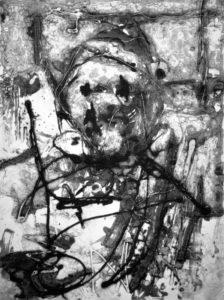 On the Day, 40 x 29,8 cm, Carborundum, Edition: 10