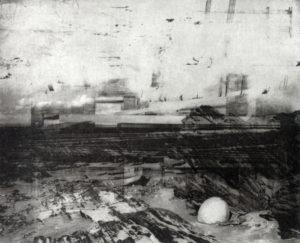 Cape Jervis 24 x 29 cm, Photogravure