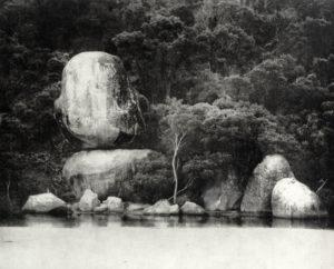 Whale Rock, 24 x 29 cm, Photogravure