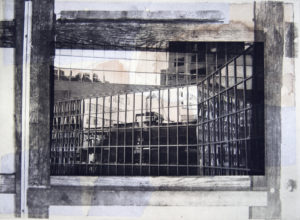 Inventory of Memory 07, 29,5 x 39,5 cm, Photogravure/Chine Collee