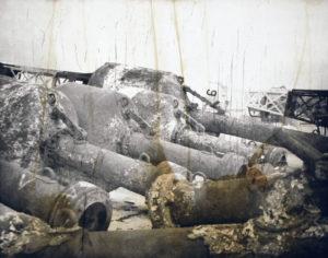 Closed Season (H0208), 40 x 50 cm, Photogravure/Chine Collee